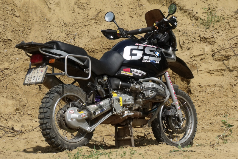 BMW R 1100 GS alias War Machine