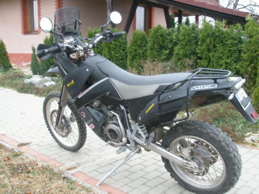 Prestavba KTM 620 LC4