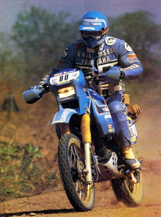 Yamaha XT-XTZ na Dakare  1979-1984