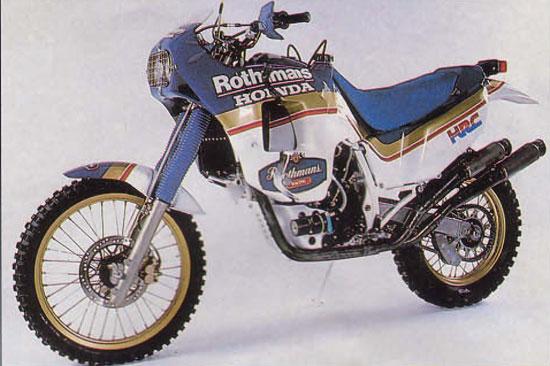 Honda na Dakare – 1986
