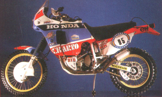 Honda na Dakare 1987-89