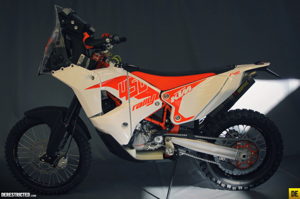 KTM 450 Rally 2014 – detaily