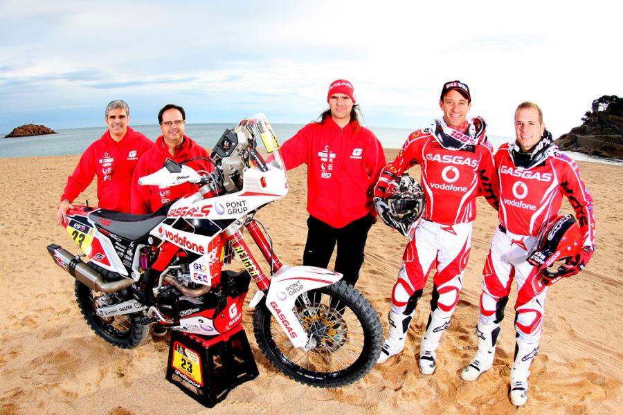 5a6gas-gas-Dakar-2015-Team