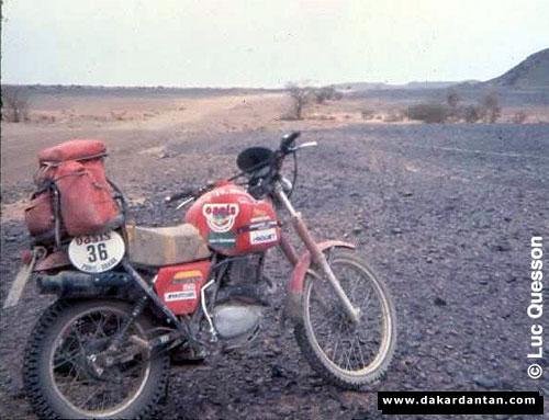 Honda na Dakare 1979-81