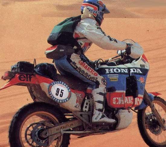 Dakar-1987-Honda-NXR-750 Neveu