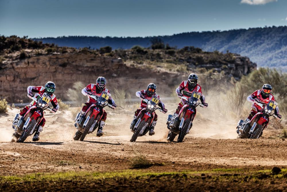 Dakar 2017 a Honda