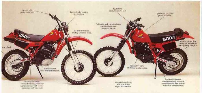 Honda XR500 200R 81