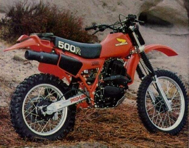 Honda XR500R 81  1