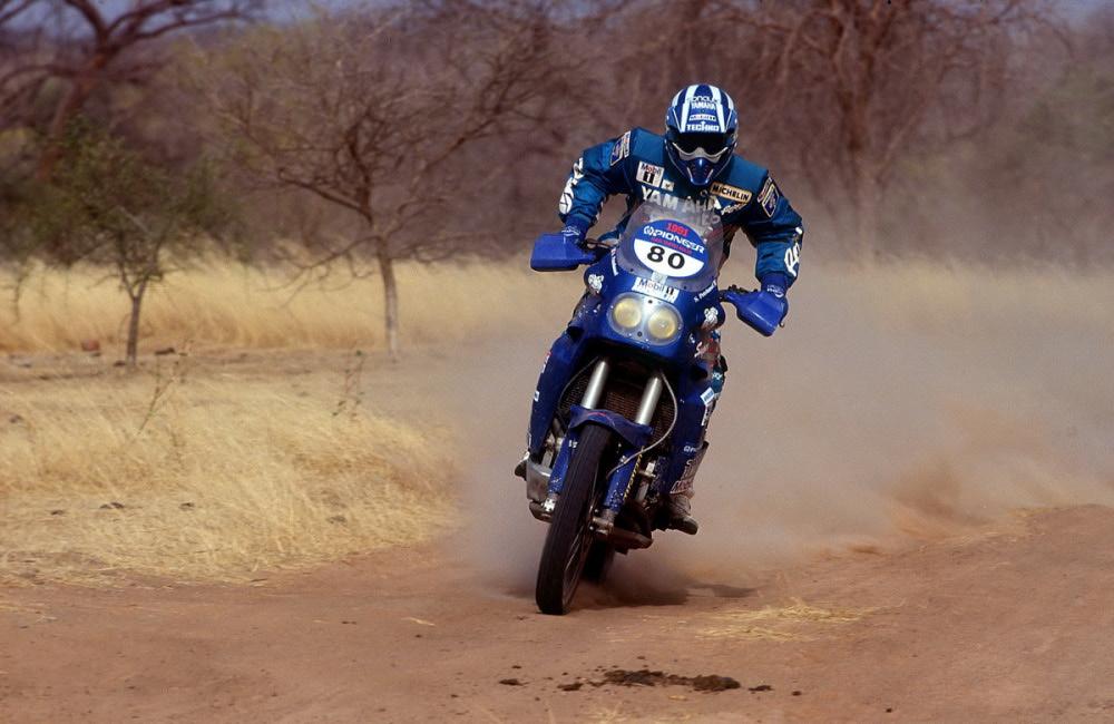 Yamaha XT-XTZ na Dakare  1985-1989