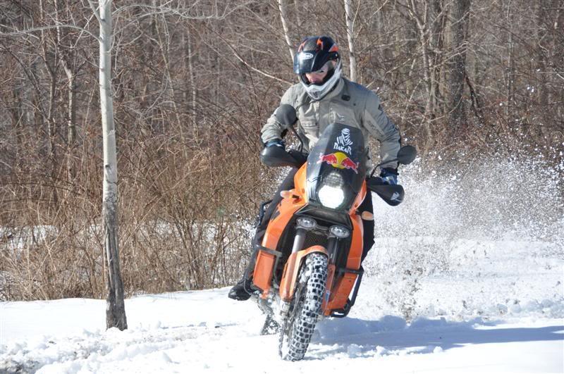 Zima a KTM