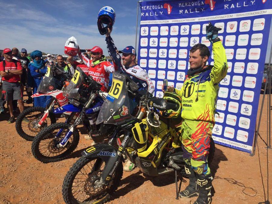 Števo Svitko na Merzouga Rally 2015