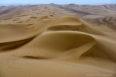Atacama desert sand dunes south of Iquique, Chile