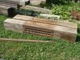 Vyrezávané bukové trámy