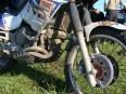 Zaprasená motorka