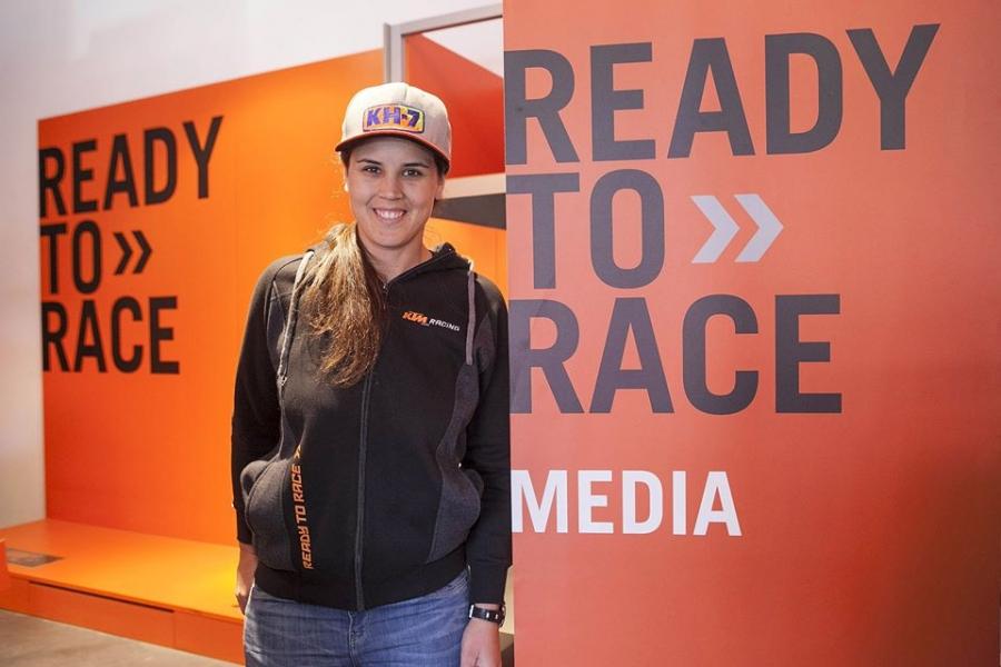 Laia Sanz v KTM