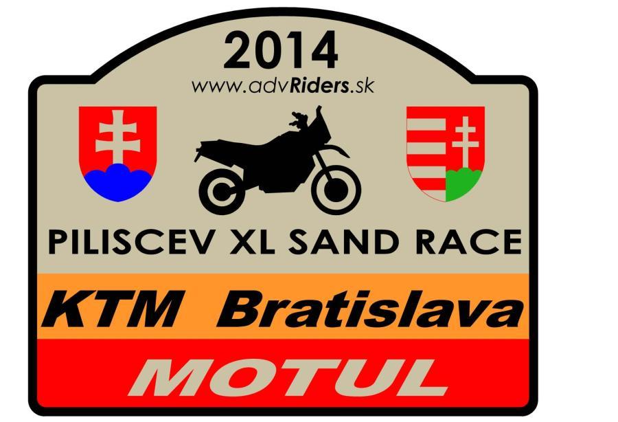 Piliscev XL Sand Race 2014 – pokyny