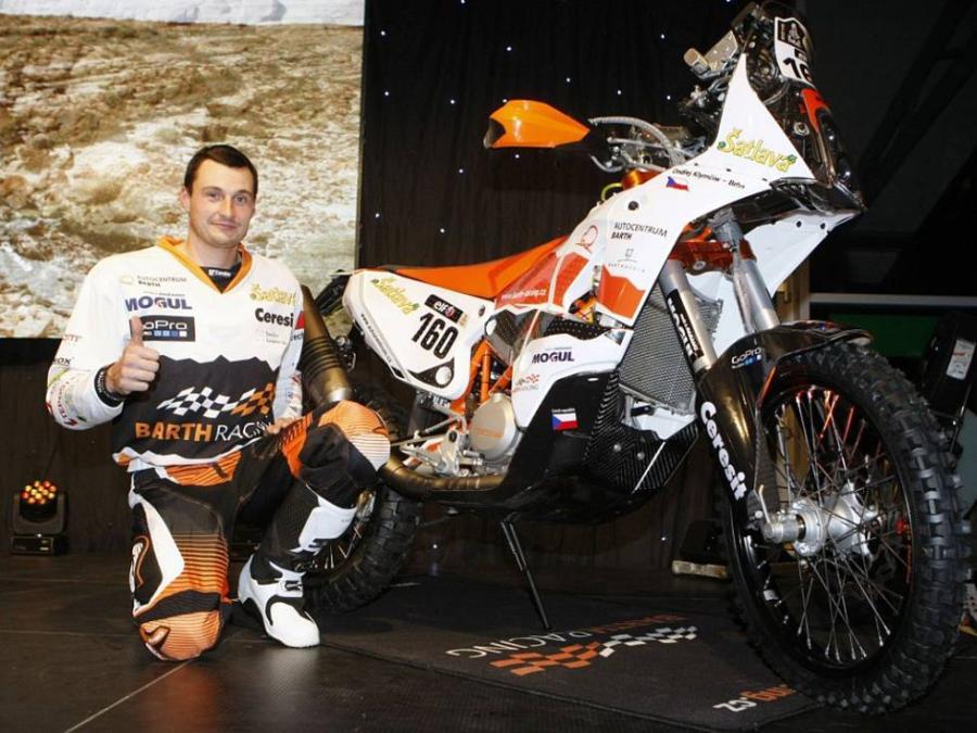 Ondrej Klymčiw a Dakar 2015