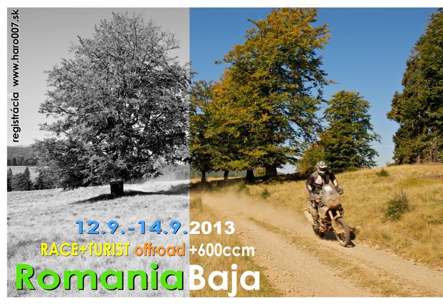 Romania Baja 2013 – plagátik