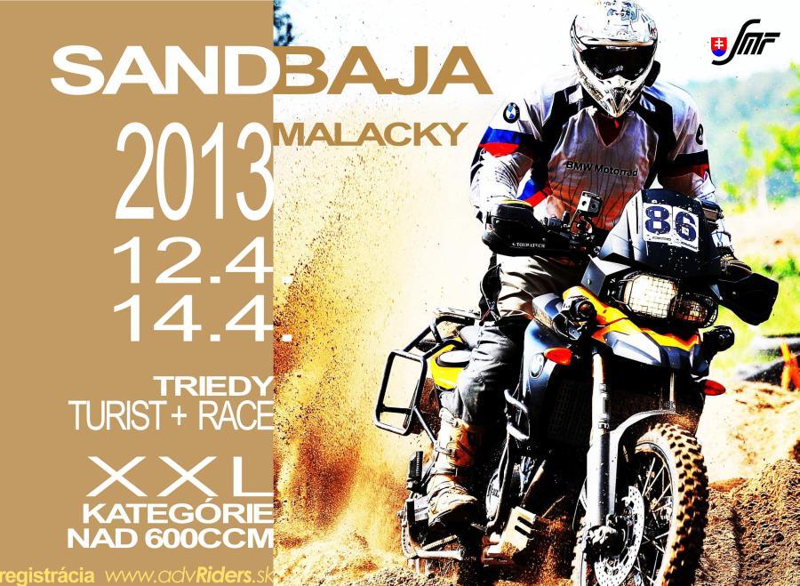SAND BAJA 2013 plagát