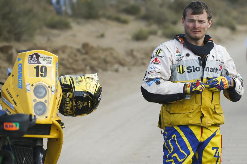 Štefan Svitko po Dakare 2014