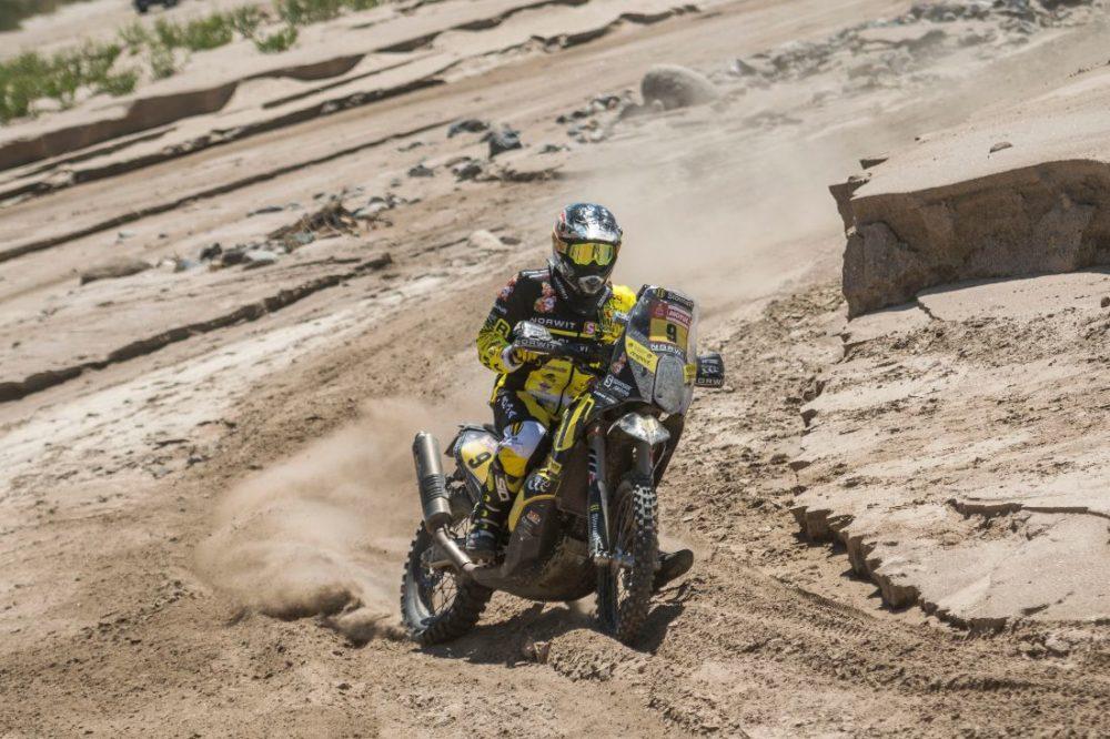 Števo Svitko na Dakare 2018 skončil
