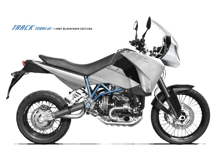 Track T-800: nová dieslová motorka