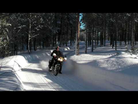 Zima a Honda XRV