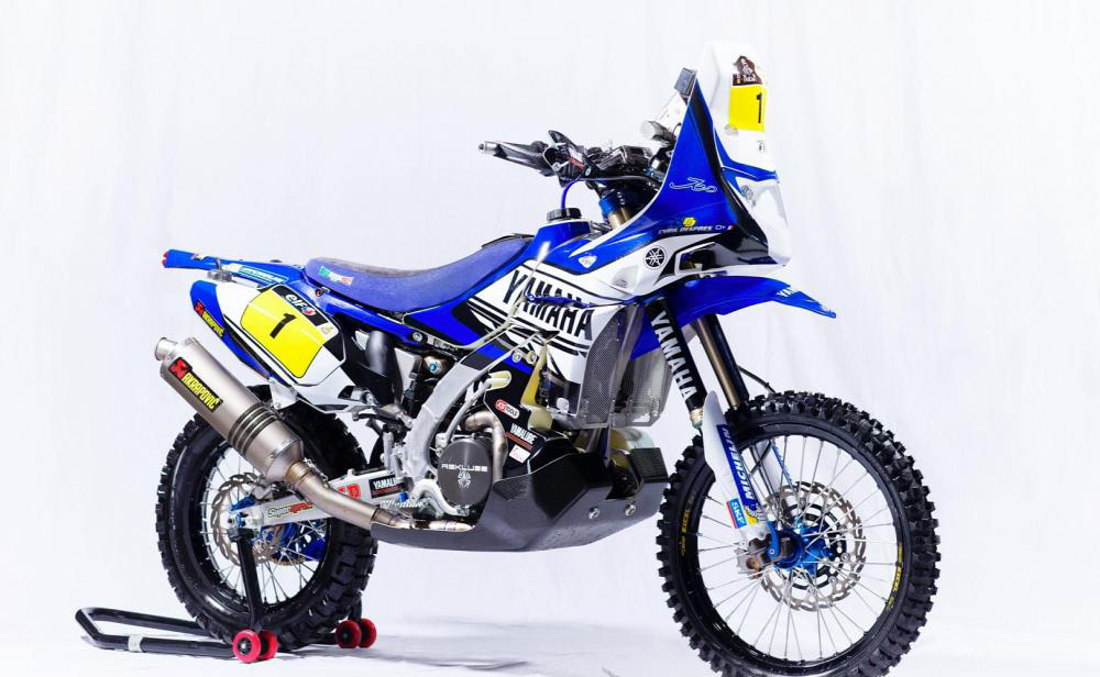 Yamaha YZ 450 F Rally 2014